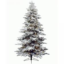 ft snowy alaskan artificial tree warm white cluster led lights