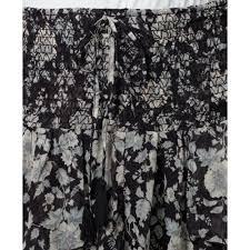 denim u0026 supply ralph lauren floralprint highlow tiered maxi skirt