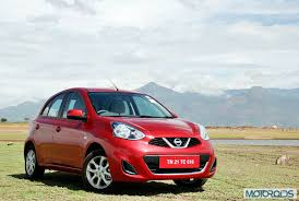 nissan micra new launch locally produced nissan micra cvt launched starts at inr 5 99