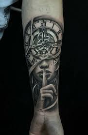 clock awesome clock tattoos ideas clock tattoos with roses clock