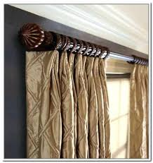 Home Depot Wood Curtain Rods Wooden Curtain Rods Designdrip Co
