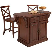 extraordinary cherry kitchen island with stools also decorative