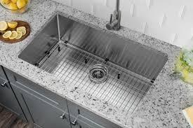 Single Bowl Kitchen Sink Undermount Soleil 32