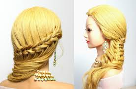 hairstyles for long hair tutorial every day braids youtube