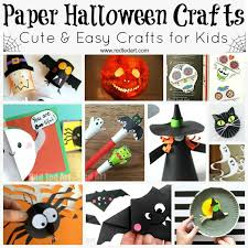 paper halloween crafts red ted art u0027s blog