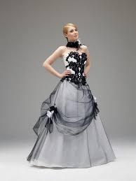 robe de mari e noir et blanc robe de marier noir
