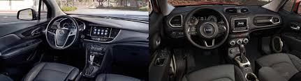 Interior Jeep Renegade 2017 Jeep Renegade Vs 2017 Buick Encore In Delano Ca