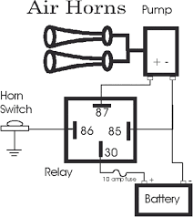 chevroler silverado 12 volt horn wiring diagram wiring