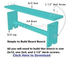 Simple Wood Bench Seat Plans by Best 25 Benches Ideas On Pinterest Diy Bench Diy Table And Diy