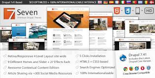 drupal different templates for different pages seven drupal 7 business corporate theme themesnap com