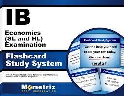 ib economics sl and hl examination flashcard study system ib