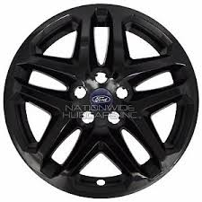 ford fusion hubcap 2010 4 black 13 16 ford fusion 17 wheel covers skins hub caps fits