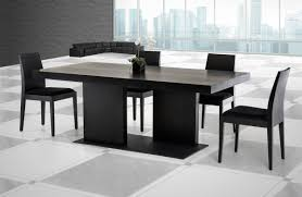 dining tables astonishing modern black dining table breathtaking