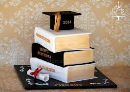 graduation cakes stacked books graduation cake on cake central cakes