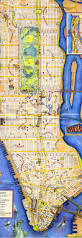 New York City Attractions Map by Large Tourist Map Of Manhattan Manhattan Large Tourist Map