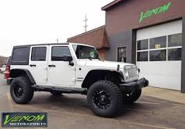 jku jeep white jku venom motorsports grand rapids mi us 160240