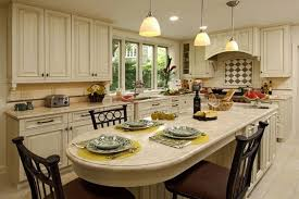 Impressive  Granite Kitchen Island Table Design Decoration Of - Granite top island kitchen table