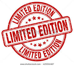 limited edition limited edition st stock vector 425552467