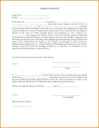 6 affidavit template receipt templates