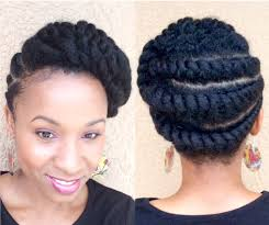 pictures of flat twist hairstyles for black women natural hair flattwist updo protectivestyle youtube