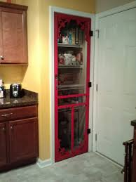 red pantry screen door for the kitchen pinterest pantry