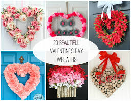 valentines wreaths 20 sweet s day wreaths lydi out loud