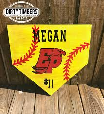 Home Plate Baseball by Unfinished Baseball Door Hanger Home Plate Diy Blank Wood