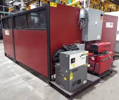 lincoln fanuc 2008 6 axis robotic welding cell with lincoln