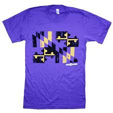 Purple Flag Baltimore Ravens Football Purple Gold Maryland Flag Shirt U2013 Route