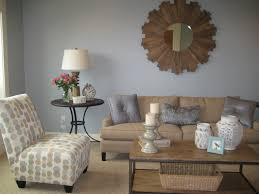 ideas terrific contemporary living room grey blue wall paint