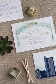 arch wedding invitations for danielle david cheer