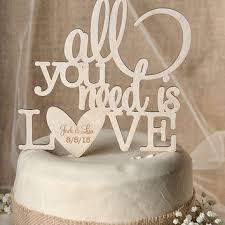 all you need is cake topper best wedding cake toppers products on wanelo