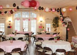hall decoration garden baby shower parties for pennies party venue