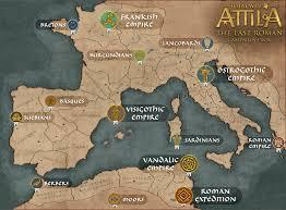 Map Of The Roman Empire Twa The Last Roman Total War Wiki