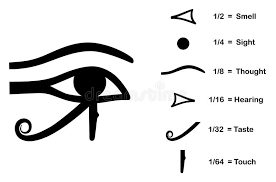 the eye of horus stock vector illustration of religion 13854651
