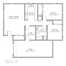 one bedroom cottage floor plans one bedroom cottage floor plans images extraordinary two cabin with