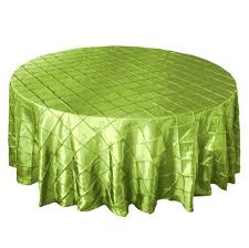 90 pintuck apple green tablecloth smarty had a