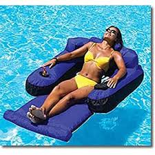 amazon pool floats amazon com ultimate fabric covered lounger swimming pool float