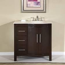 Wide Bathroom Cabinet by Bathroom Gorgeous 36 Inch Wide White Bathroom Vanity 8 Center