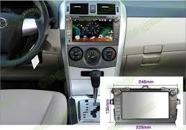 2011 toyota corolla accessories car dvd gps navigation player for toyota corolla 2007 2012 car