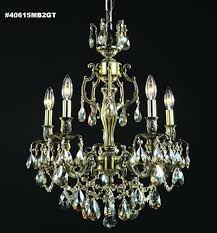 Moder Chandelier R Moder 40615 Brindisi 5 Light Crystal Chandelier