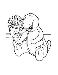 u0027onae coloring cartoon characters barney friends barney 5