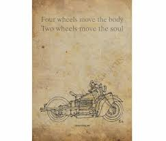 motorcycle home decor indian four 1940 vintage sketch of this amazing machine