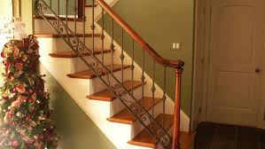 Wrought Iron And Wood Banisters Interior Iron Railings Iron Railings Interior Stairs Indoor