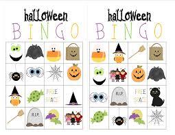 Halloween Bingo Printable Cards Recipes From Stephanie Halloween Bingo