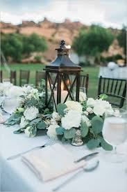 color of the year 2017 greenery wedding centerpiece ideas