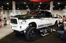 white dodge truck 2014 sema the hd truck hub