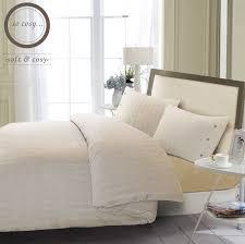 herringbone flannel duvet cover set t230 super soft hotel quality