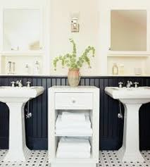 wainscoting bathroom ideas pictures black and white bathrooms with wainscoting search pub