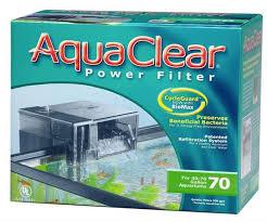 hagen aquaclear 70 power filter 1135l hr 152 265l aquatic